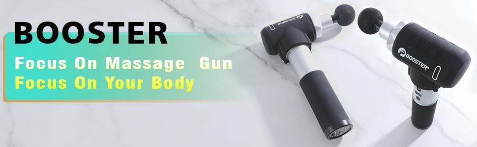 BOOSTER, Focus On Massage Gun, Focus On Your Body