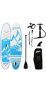 Inflatable Stand Up Paddle Board with Premium SUP Accessories amp; Backpack
