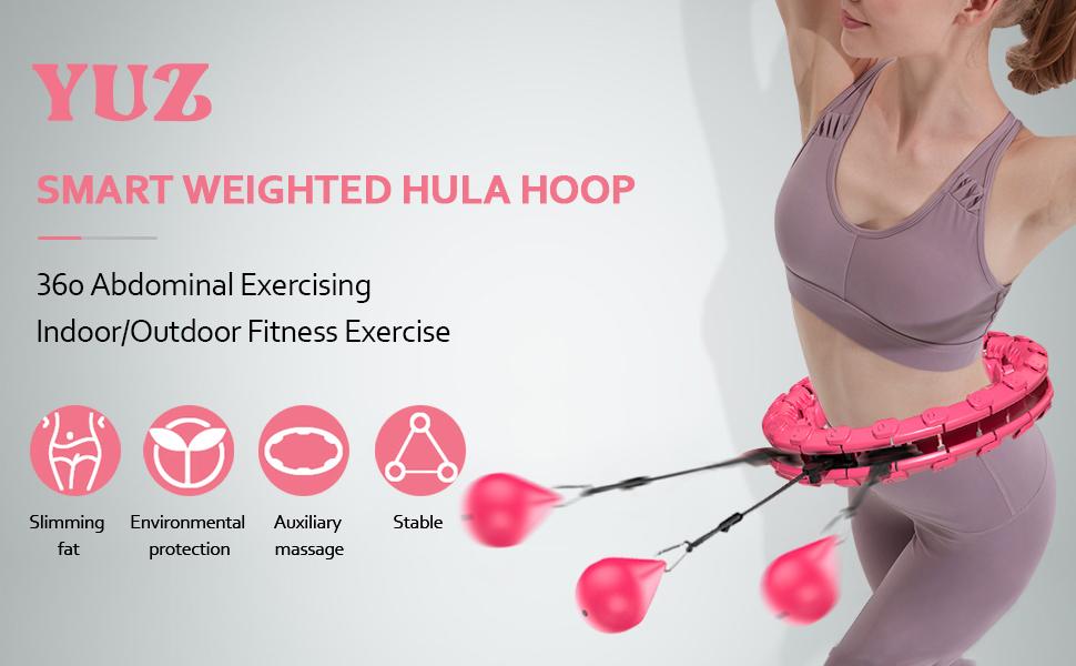 SMART WEIGHTED HULA HOOP