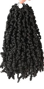 bomb twist crochet hair