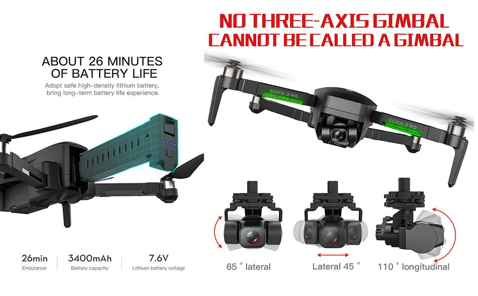 Flashandfocus.com 7ef9f70e-0fab-420c-8c35-34980fce8ad8.__CR0,0,970,600_PT0_SX970_V1___ AIROKA Beast SG906 Pro 2 4K Camera RC Drone with GPS Three-Axis Self-Stabilizing Gimbal 5G WiFi Anti-Shake Gimbal…
