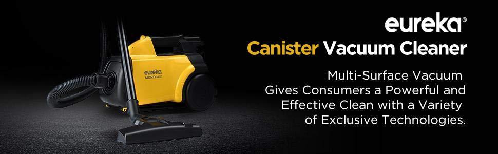 eureka 3670 canister vacuum cleaner