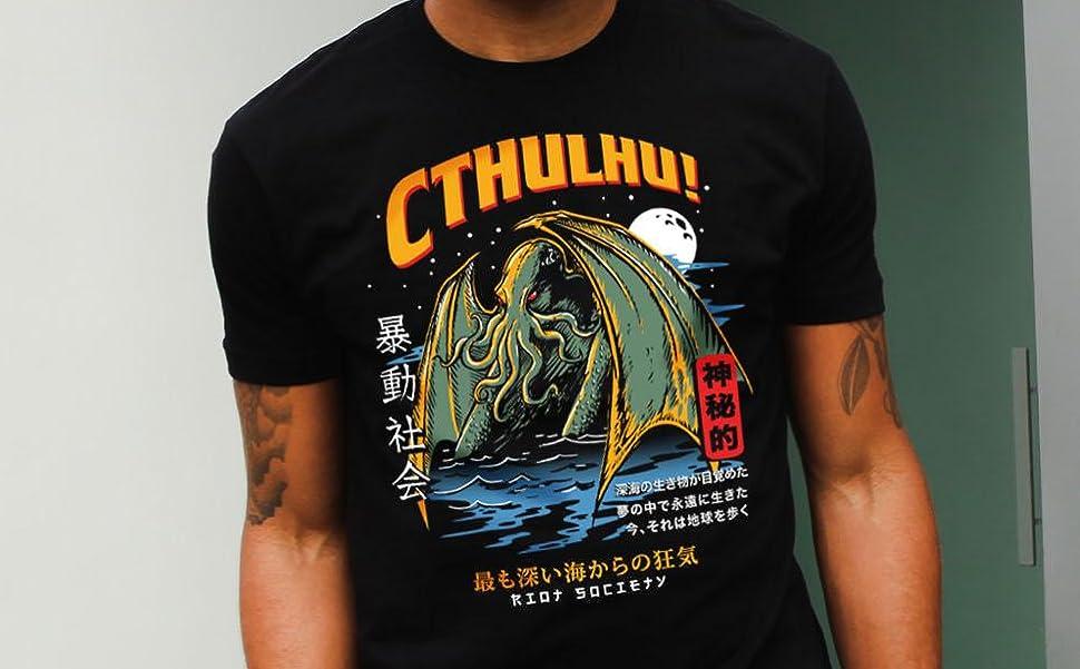 Riot Society Mens Short Sleeve Embroidered Logo T-Shirt