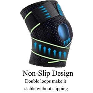 Elastic pressure belt and adjustable Velcro design