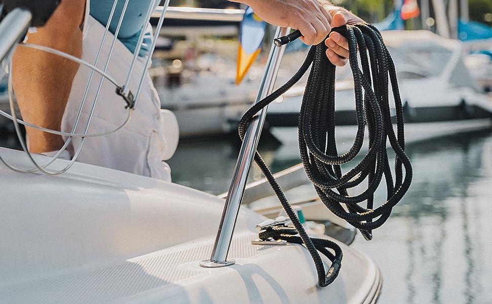 ACY Marine flexible dock line