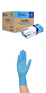 Nitro-v with gloves