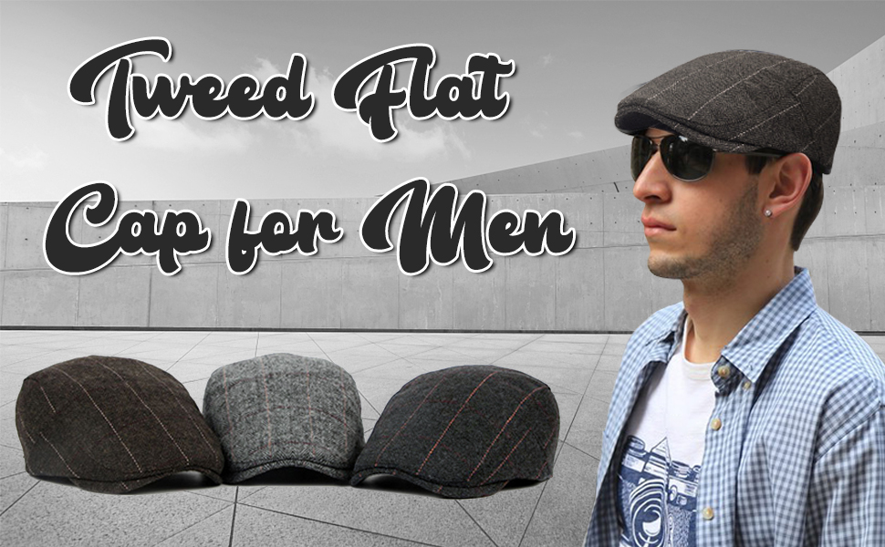 Boinas Flat Cap para Hombre