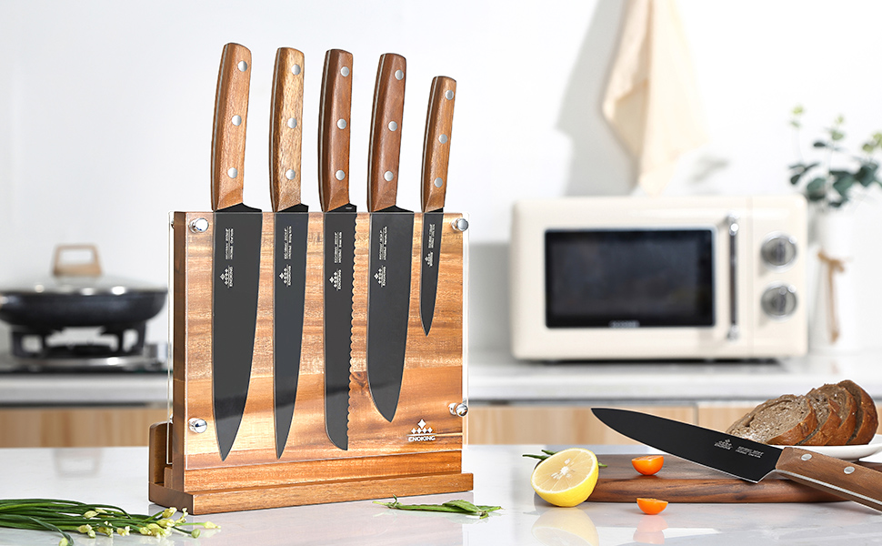 Magnetic Knife Block