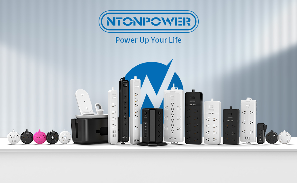 NTONPOWER specializes in multiple outlets USB Power Strips for home/travel/office/business center.
