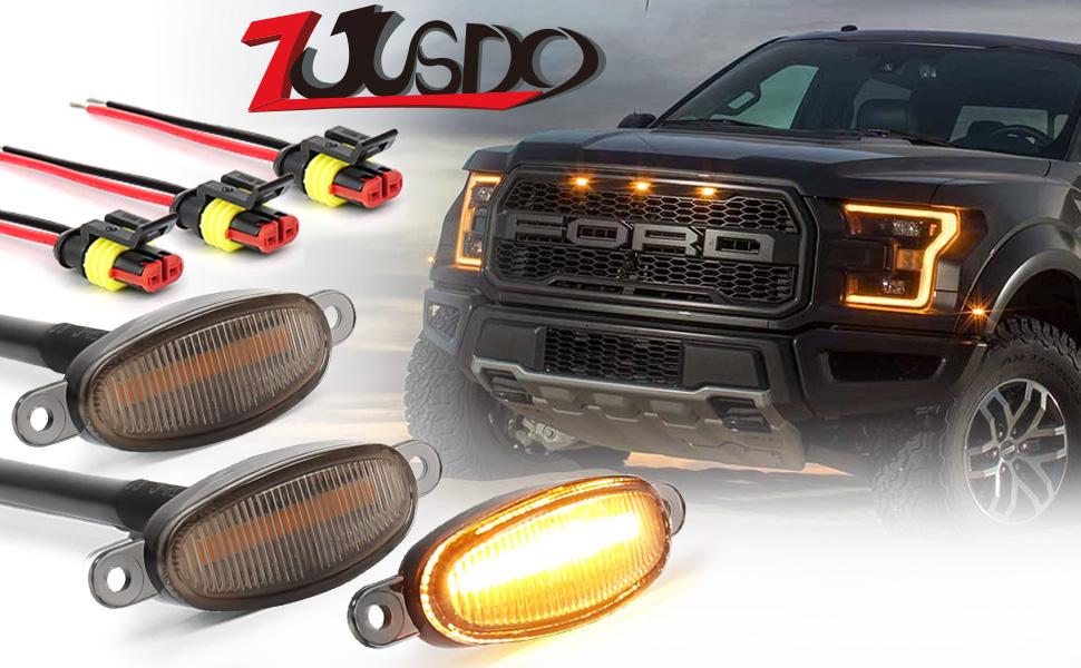 Ford grille lights