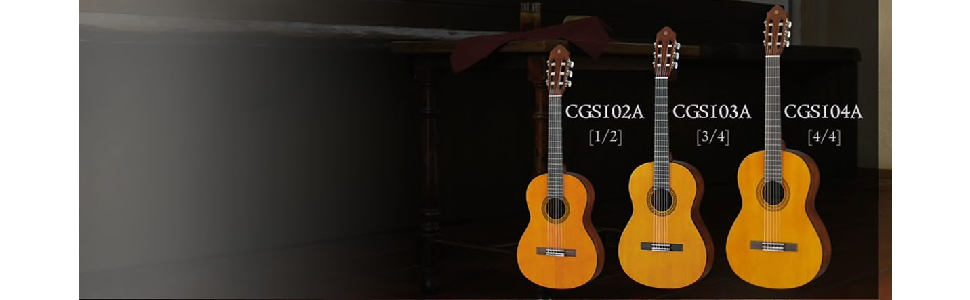 CGS School Series Classical Guitars