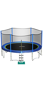 Zupapa out net trampoline 150*300