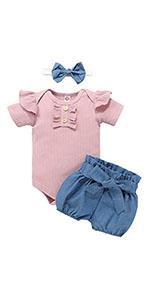 Baby Girl Romper Sets