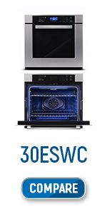 30ESWC, Electric Wall Oven, Electric Oven, 30 in, Digital Clock, Digital Timer, European Convection