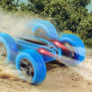The RC Car is Suitable for Different Terrains.