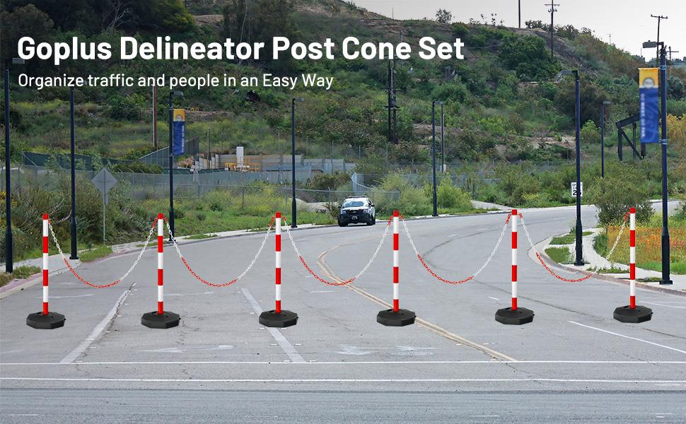 Delineator Post Cone