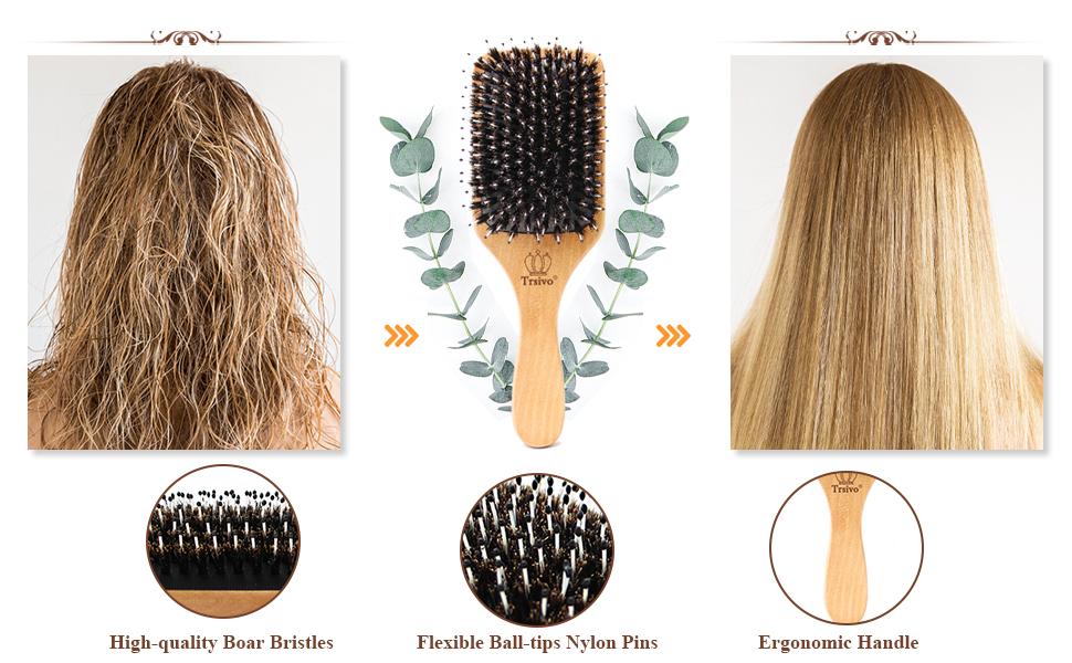 Makes hair look shiny and improves hair texture.