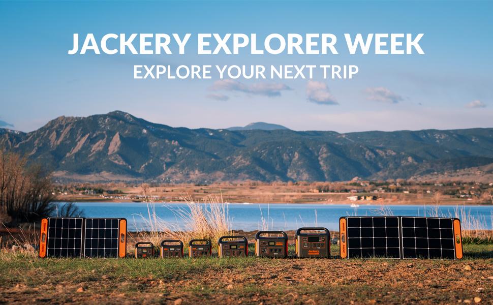 Jackery Solar Generator, Power Outdoors.