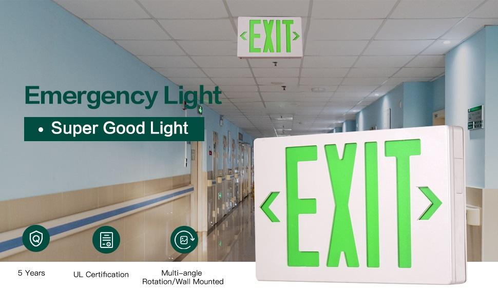 The Green Exit Sign