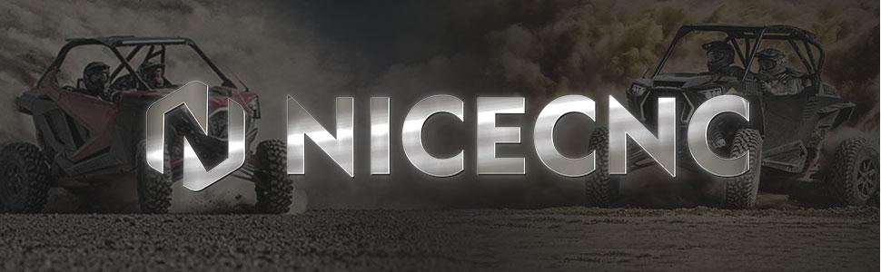 NICECNC Black ATV UTV Thumb Throttle Control Lever