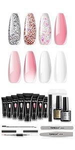 gel nail kit extensions gel nail kit starter