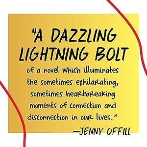 a dazzling lightning bolt