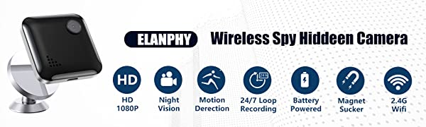 wireless spy hiddn camera