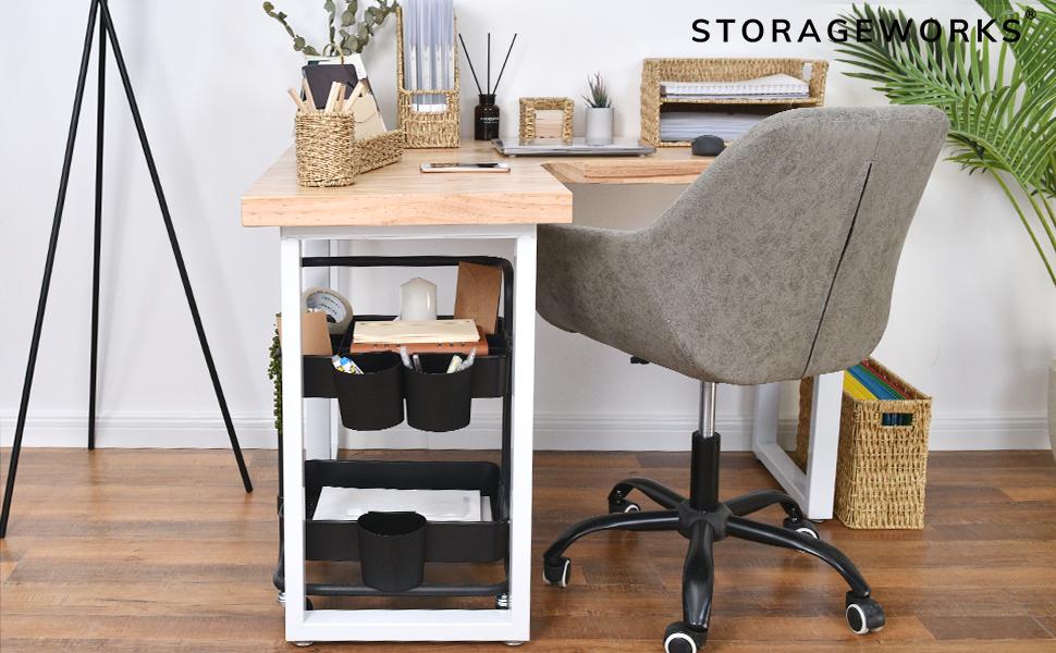 StorageWorks Storage utility rolling cart