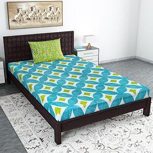 bedsheet single bed cotton