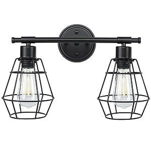 farmhouse vanity lights for bathroom