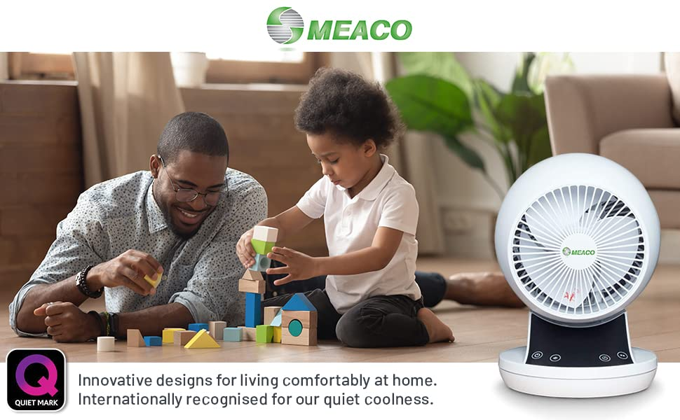 cooling fan silent desk quiet bedroom rechargeable remote control air circulator oscillating