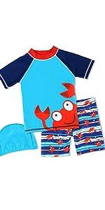 boys swimwear set