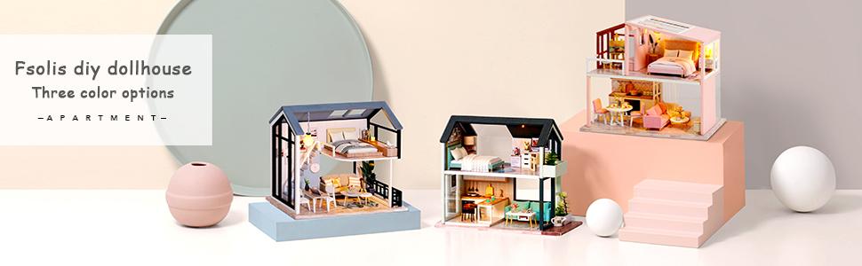 Fsolis DIY dollhouse QL