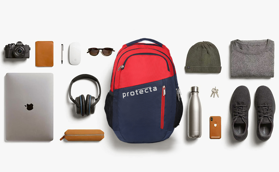 Protecta Twister Laptop Backpack Contents