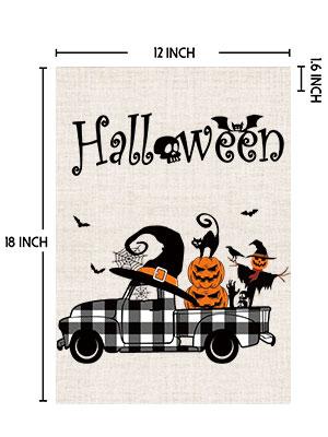 halloween yard flags