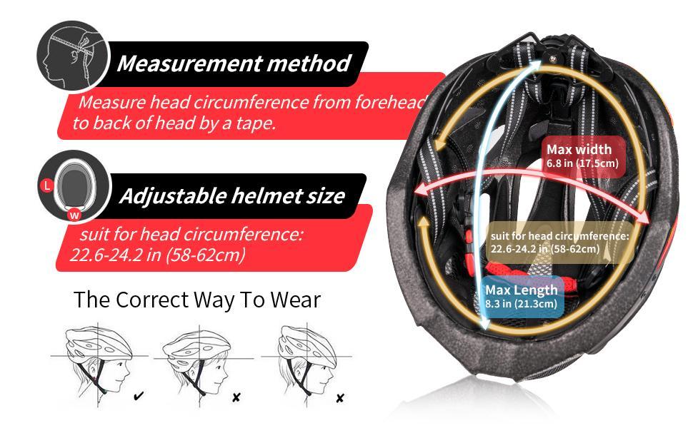 Adjustable helmet size
