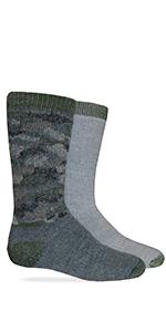 camo youth socks