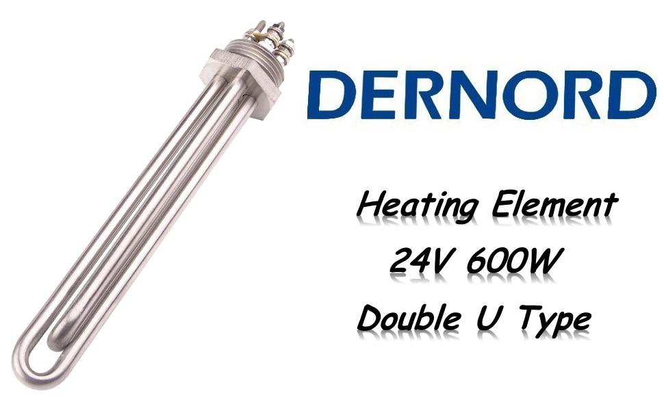 DERNORD Water Heater Element 24v 600w