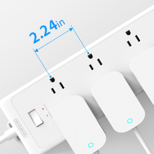 extension cord with multiple outlets