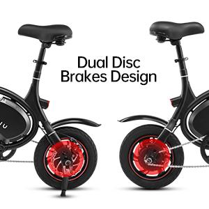 Dual Disc Brakes Design