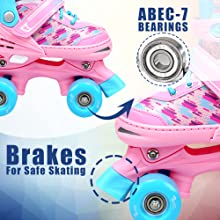 Eliiti Quad Skates 4 Wheels