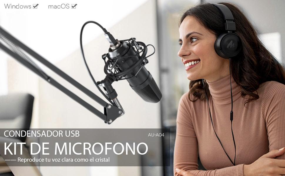 KIT DE MICROFONO MAONO A04
