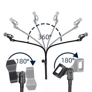 microphone clip 360