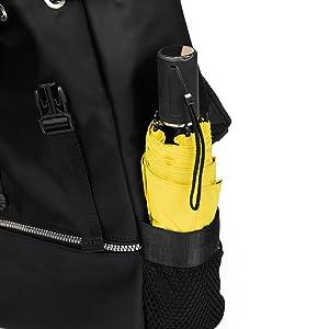 The side net pocket for portable umbrella