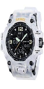 Menamp;#39;s Military Watch White