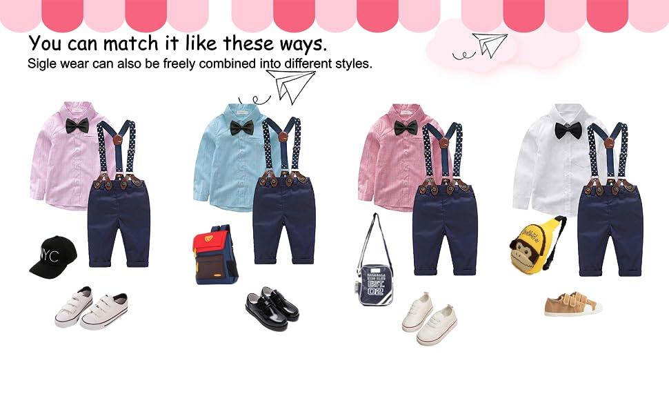baby boys clothing set
