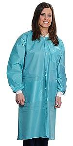 Valumax Teal Lab Coats