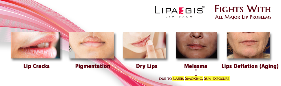 Cures with all major lip problems