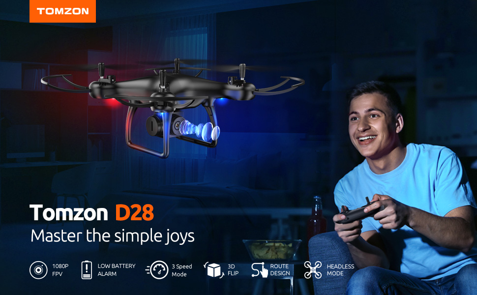 tomzon d28 mini drone with camera for adults
