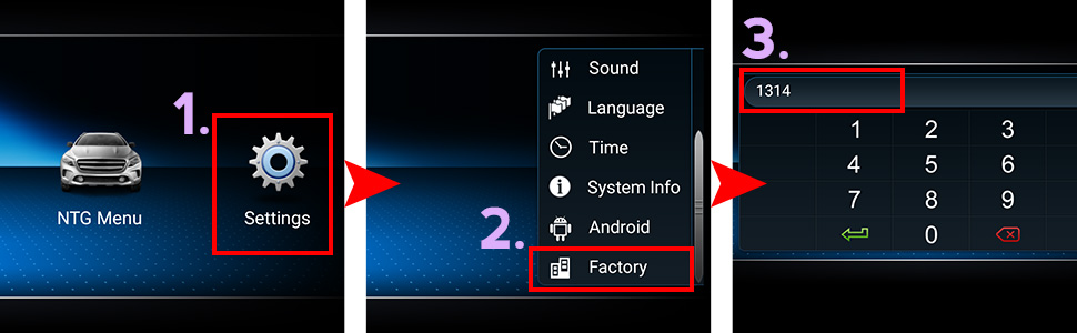 how to get factory setting